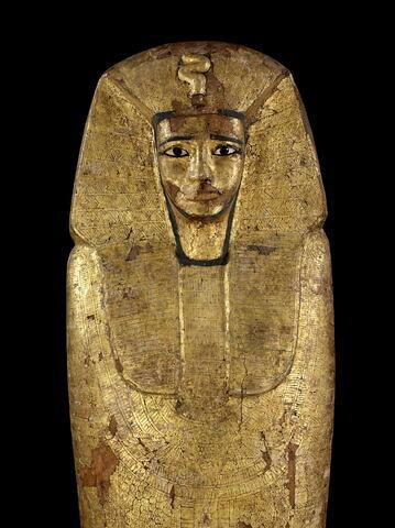 détail ; partie supérieure ; face, recto, avers, avant © 2011 Musée du Louvre / Georges Poncet