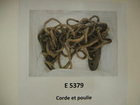 corde ; poulie
