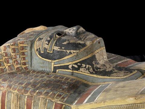 détail ; trois quarts droit © 2011 Musée du Louvre / Georges Poncet