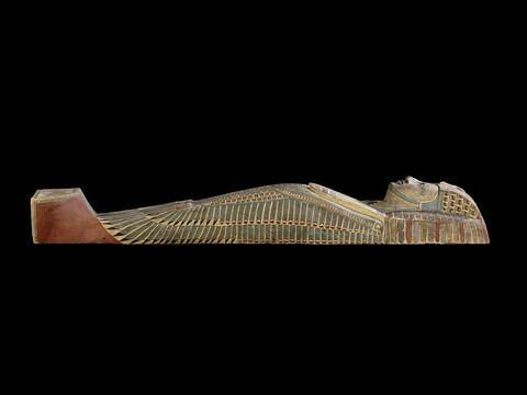 vue d'ensemble ; profil gauche © 2011 Musée du Louvre / Georges Poncet