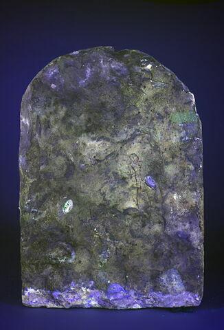 dos, verso, revers, arrière ; ultra violet © 2017 Musée du Louvre / Christian Décamps