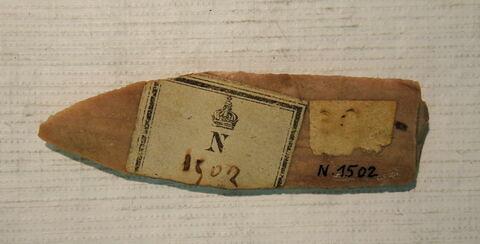 dos, verso, revers, arrière ; détail marquage / immatriculation © 2019 Musée du Louvre / Antiquités égyptiennes