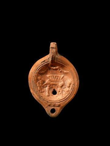 lampe à bec arrondi et 3 boutons ; lampe à anse en anneau à butée