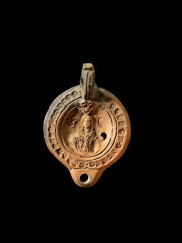 lampe à bec arrondi ; lampe à anse en anneau à butée