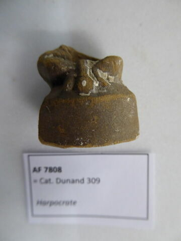 figurine d'Harpocrate phallique