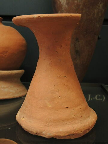 support de vase en bobine haute