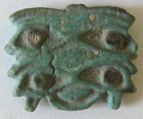 amulette oudjat quadruple parallèle