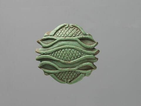 amulette oudjat quadruple symétrique