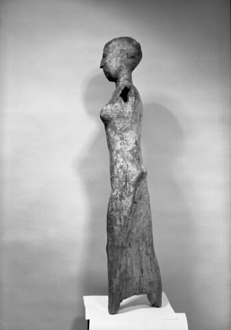 vue d'ensemble ; profil gauche © 1984 Musée du Louvre / Maurice et Pierre Chuzeville