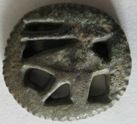 amulette ; amulette oudjat circonscrit ajouré