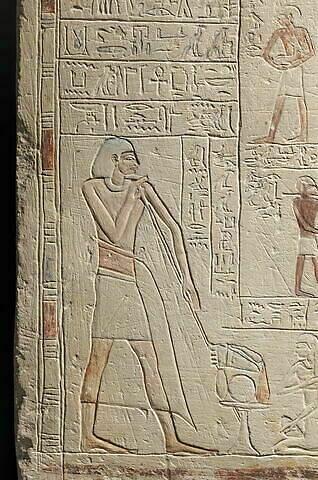 partie gauche ; détail © 2014 Musée du Louvre / Christian Décamps