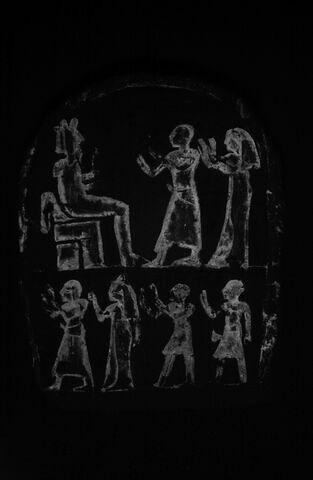face, recto, avers, avant ; infrarouge © 2014 Musée du Louvre / Christian Décamps