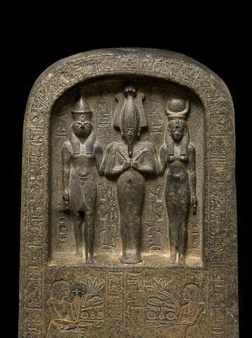 partie supérieure ; face, recto, avers, avant © 2013 Musée du Louvre / Georges Poncet