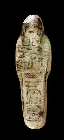 serviteur funéraire momiforme mains cachées ; serviteur funéraire