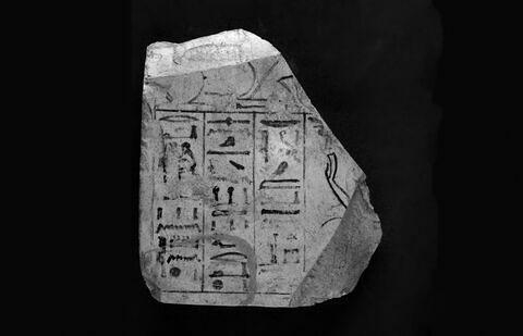 face, recto, avers, avant ; infrarouge © 2015 Musée du Louvre / Christian Décamps
