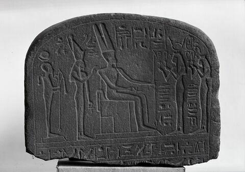 partie supérieure ; vue d'ensemble ; face, recto, avers, avant © Musée du Louvre / Maurice et Pierre Chuzeville