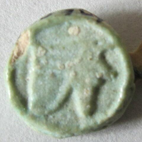 amulette oudjat circonscrit ; rondelle Bès oudjat