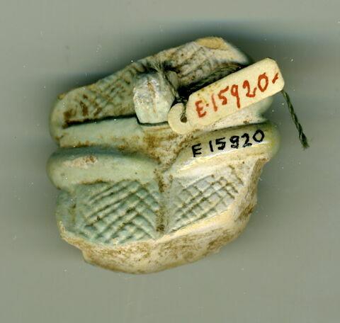 vue d'ensemble ; vue de dessous © 2015 Musée du Louvre / Antiquités égyptiennes