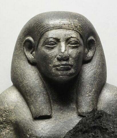 face, recto, avers, avant ; détail © 2013 Musée du Louvre / Thierry Ollivier