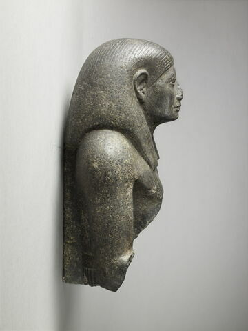 profil droit © 2013 Musée du Louvre / Thierry Ollivier