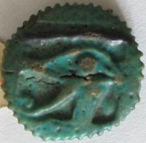 amulette ; amulette oudjat circonscrit