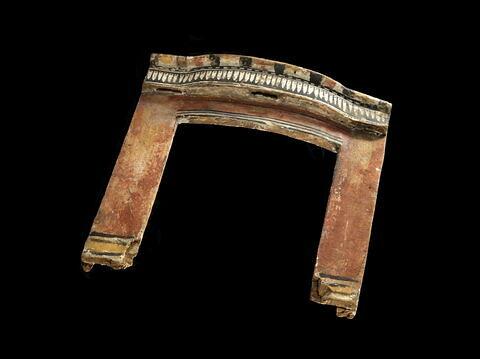 vue d'ensemble ; dos, verso, revers, arrière ; vue plongeante © 2012 Musée du Louvre / Georges Poncet