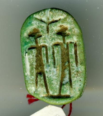 scaraboïde ; sceau fasciculé