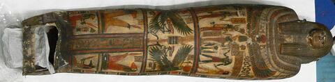 enveloppe de momie en cartonnage ; momie d'homme
