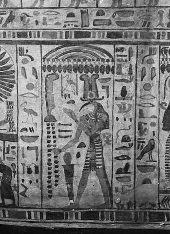 détail ; vue extérieure ; profil gauche © 1980 Musée du Louvre / Maurice et Pierre Chuzeville