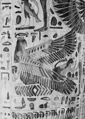 détail ; vue extérieure ; profil droit ; partie médiane © 1980 Musée du Louvre / Maurice et Pierre Chuzeville