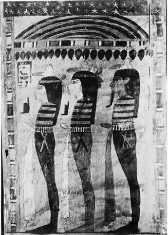 détail ; vue intérieure ; profil droit © 1980 Musée du Louvre / Maurice et Pierre Chuzeville
