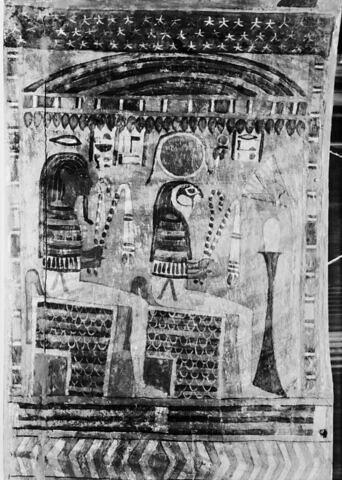détail ; vue intérieure ; profil gauche ; partie supérieure © 1980 Musée du Louvre / Maurice et Pierre Chuzeville