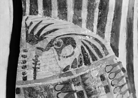 détail ; vue extérieure ; profil droit ; partie supérieure © 1980 Musée du Louvre / Maurice et Pierre Chuzeville