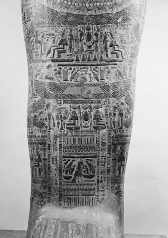 détail ; vue extérieure ; partie médiane ; face, recto, avers, avant © 1980 Musée du Louvre / Maurice et Pierre Chuzeville