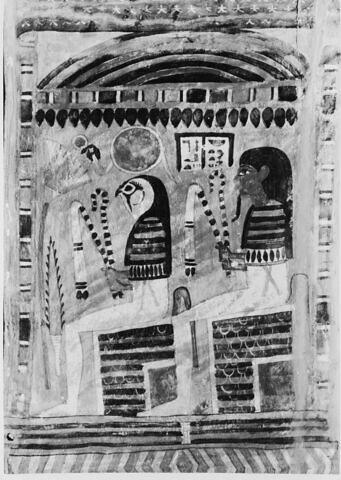détail ; vue intérieure ; profil droit ; partie supérieure © 1980 Musée du Louvre / Maurice et Pierre Chuzeville