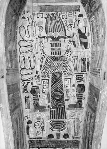 détail ; vue intérieure ; partie médiane © 1980 Musée du Louvre / Maurice et Pierre Chuzeville