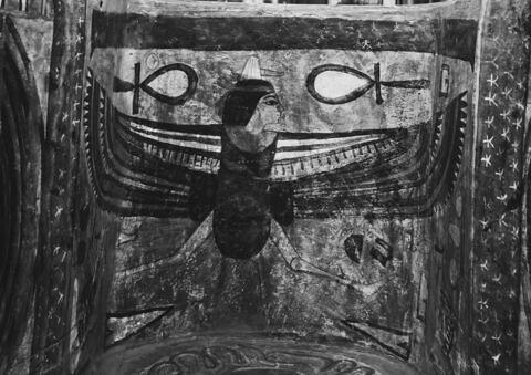 détail ; vue intérieure ; partie supérieure © 1980 Musée du Louvre / Maurice et Pierre Chuzeville