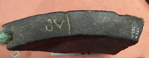 vue d'ensemble ; vue de dessus © 2018 Musée du Louvre / Antiquités égyptiennes