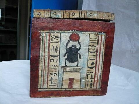vue d'ensemble ; face D, face 4 © 2010 Musée du Louvre / Antiquités égyptiennes