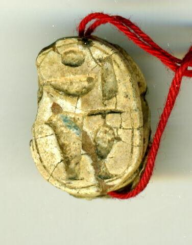 vue d'ensemble ; vue de dessous © 2014 Musée du Louvre / Antiquités égyptiennes