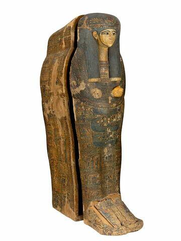 vue d'ensemble ; trois quarts droit © 2015 Musée du Louvre / Georges Poncet