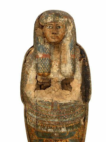 face, recto, avers, avant ; détail © 2015 Musée du Louvre / Georges Poncet