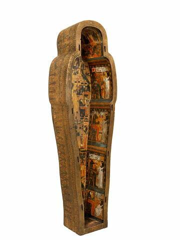 trois quarts gauche ; vue intérieure © 2015 Musée du Louvre / Georges Poncet