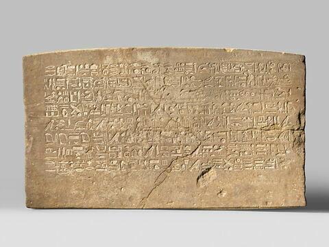 relief mural ; Annales des prêtres de Karnak