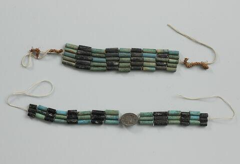 bracelet ; perle tubulaire