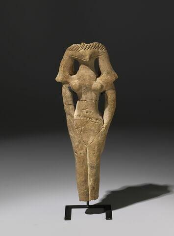 figurine féminine type Edfou