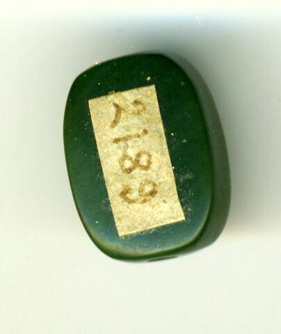 perle en pastille ovale