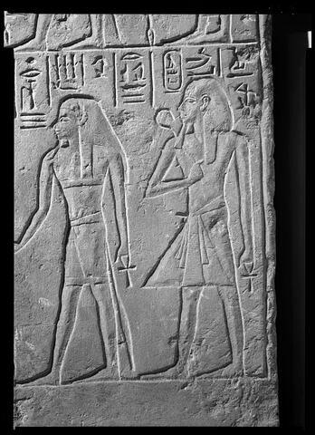 détail ; face, recto, avers, avant © Musée du Louvre / Maurice et Pierre Chuzeville
