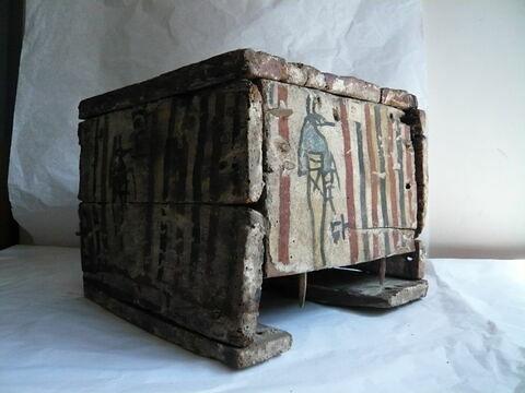 vue d'ensemble ; trois quarts © 2010 Musée du Louvre / Antiquités égyptiennes