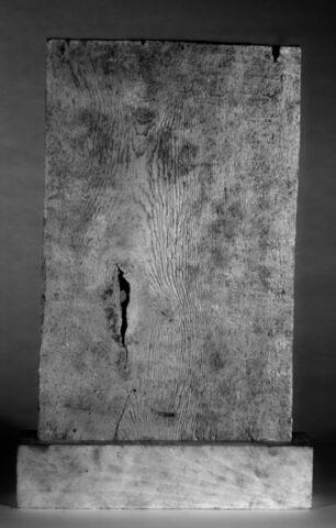 infrarouge ; dos, verso, revers, arrière © 2017 Musée du Louvre / Christian Décamps